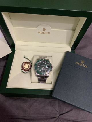 Rolex Submariner Hulk 116610LV Ceramic Green Dial 2