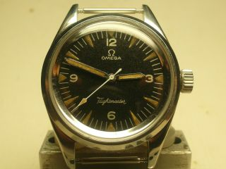 Omega Military Fap Railmaster/flightmaster;issued Peruvian Airforce1964;excerpt
