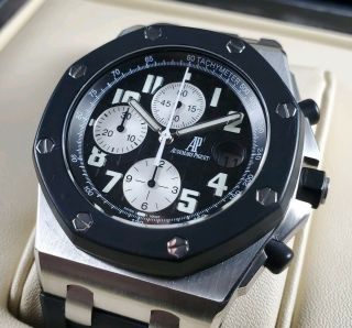 Audemars Piguet Royal Oak Offshore Chronograph Watch 25940sk.  Oo.  D002ca.  01 Panda