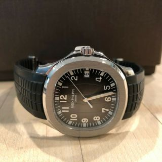 Patek Philippe Jumbo Aquanaut 5167 5167a - Box,  Papers,  Serviced,
