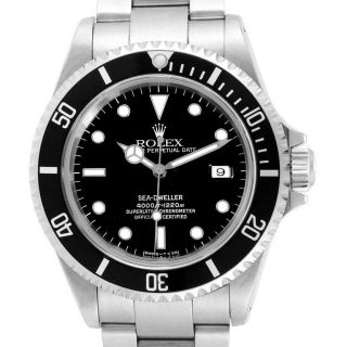 Rolex Sea - Dweller Black Dial Automatic Steel Mens Watch 16600
