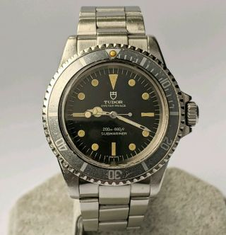 Tudor Oyster Prince Submariner 7016/0 Watch - 1968 - Vintage