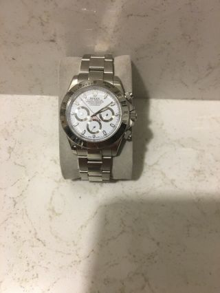 Rolex Daytona Stainless Steel Mens Watch