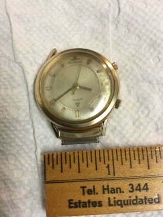 Rare Vintage Jaeger Lecoultre 10k Gold Filled Men