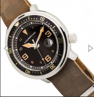 "Morphic M74 Series "" Stunning "" Leather - Band W/date "" The Most Wanted Color Combo """