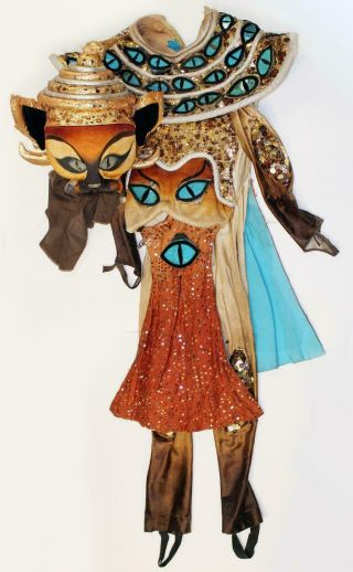 CATS Broadway Production Stage Worn Siamese Cat Costume 2