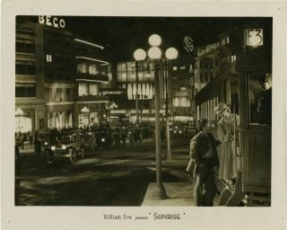 F W Murnau Sunrise Double Weight Photograph From The 1927 Film 135603