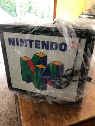 Nintendo 64 Fiber Optic Display/ Sign.  Still In.