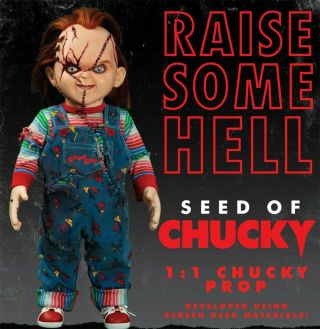Childs Play - Seed Of Chucky Doll Pre - Order - Coming In December Limited Qty
