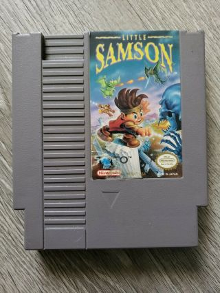 Little Samson Nes Game Nintendo Nes Retro.