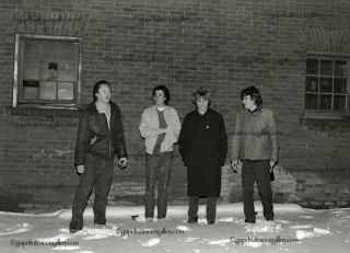 1982 The Replacements Camera Negative Lost Rock & Roll Photo Archive Early Shot