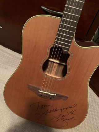 Garth Brooks Signed Autograph Guitar