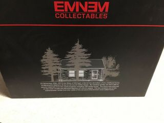 Eminem Signed Authenticated Brick And Dog Tag From Slim Shady's Childhood Home. 4