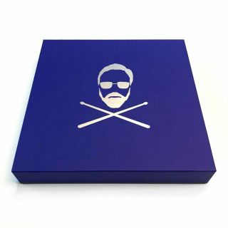 Roger Taylor Signed Drum Head Box Set Rare Gangsters Vinyl Queen Only 150 Copies