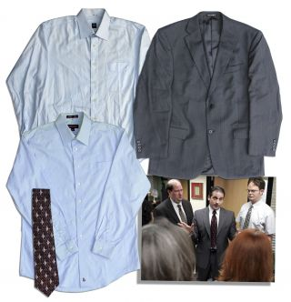 Steve Carell Screen Worn  The Office  Suit,  Nbc