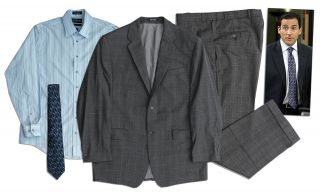 Steve Carell Screen Worn Suit From The Office Nbc