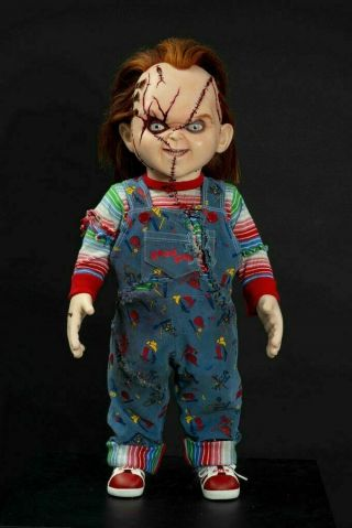 Childs Play Seed Of Chucky Doll Coming December Chucky Dolls Childs Play