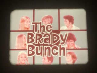 "16mm Tv Show ""the Brady Bunch"",  1973 Episode ""adios,  Johnny Bravo"",  W/commercials"