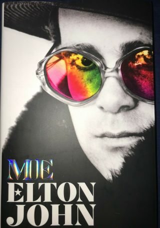 Elton John Signed Me Autobiography First Edition Hard Cover Book Rare 1/100