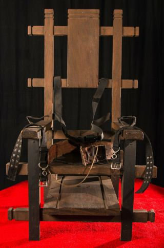Tales From The Crypt Movie Prop - Electric Chair