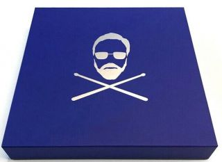 Roger Taylor Signed Drum Head Box Set Rare Gangsters Vinyl Queen 150 Copies Only