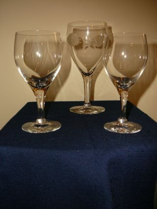 Crystal Stemware - - But In - - Modern And Vintage