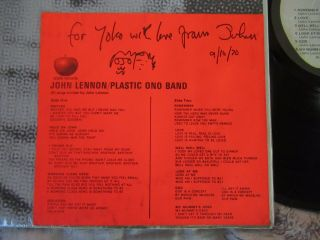 Beatles Ultra Rare 1970 Us John Lennon