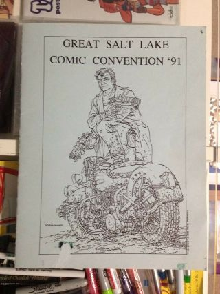 Hellboy 1991 Great Salt Lake Comic Convention Pamphlet