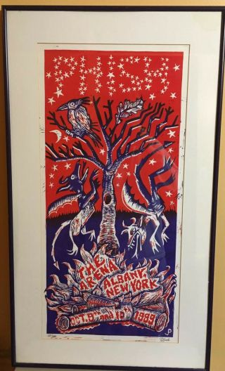Phish Poster The Albany Arena N.  Y.  October 9th & 10th 1999