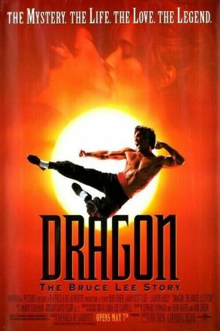 Dragon The Bruce Lee Story Screen Nunchucks Jason Scott Lee Movie Prop