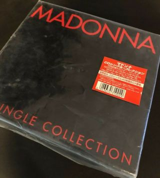 Madonna Japanese 40 Cd Box Set New/unused Rare With Plastic