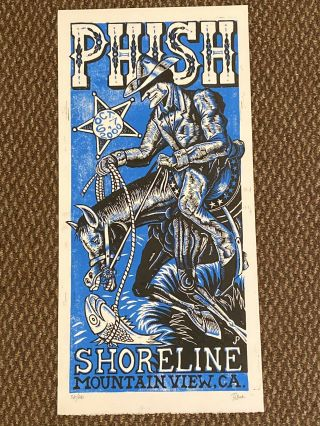 Jim Pollock Shoreline 2000 Phish Print