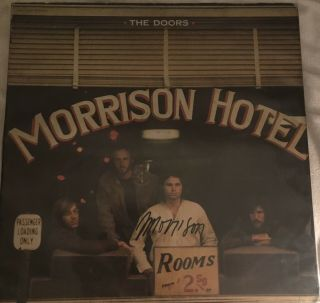 Jim Morrison Autographed The Doors Album