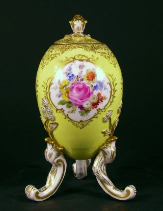 Rare Meissen Footed