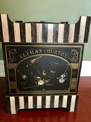 Tim Burton Danny Elfman 25th Anniversary Music Box Set
