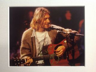 Kurt Cobain - Nirvana - Autograph Signed Photo
