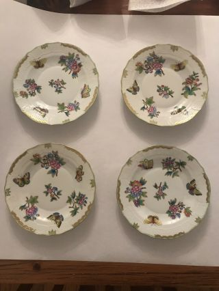 Herend Queen Victoria China Set - 8 Place Settings Plus Many Other Things