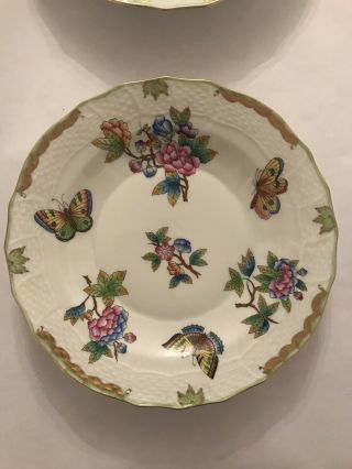 Herend Queen Victoria China set - 8 Place Settings Plus Many Other Things 2