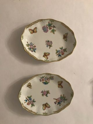 Herend Queen Victoria China set - 8 Place Settings Plus Many Other Things 8