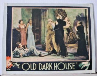 1932 The Old Dark House Universal Or Other Co.  Lobby Card Most Cast After Fight