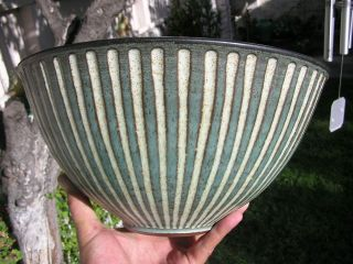 Harrison Mcintosh Studio Pottery Ribbed Bowl