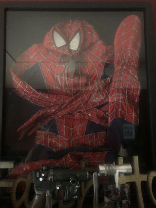 Spiderman Costume Prop Sam Raimi Suit Made By Spidey - Planet