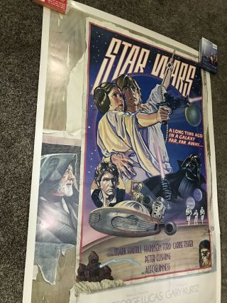 "Star Wars Style D 40x60"" Movie Poster 1978"