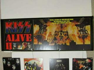 Extremely Rare KISS 1977 Alive 2 Hanging Mobile.  Aucoin.  Promotional Display 3