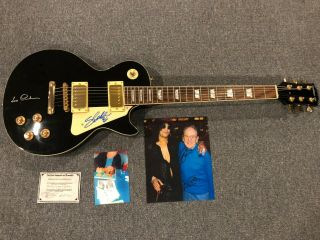 Slash & Les Paul Signed Guitar W/ Autographed