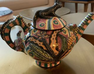 An Ardmore Ceramic Porcelain Teapot And Cover Aaa 2003
