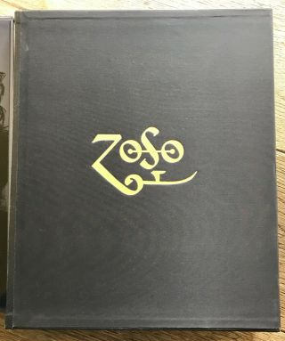 Led Zeppelin / Jimmy Page Signed Book Limited Collector Edition Genesis Books Uk