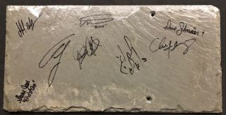 Rare Mansfield Reformatory Roof Piece Signed From Ghost Adventures Event In 2008
