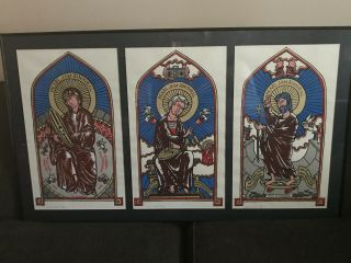 3 Pearl Jam Posters California Trio Binuaral Tour Each Is S/n Artist Proof