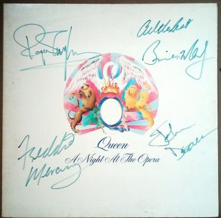 Queen/mercury Fully Signed/autographed